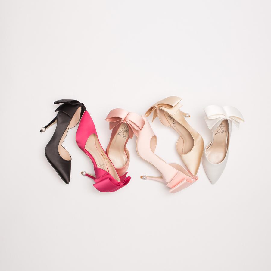 鞋,婚鞋,公主 婚鞋,GRACEGIFT,迪士尼公主系列婚鞋,迪士尼公主系列,迪士尼 公主系列 婚鞋,迪士尼 婚鞋,手工婚鞋,白雪公主浪漫蝴蝶結圓鑽跟鞋10cm